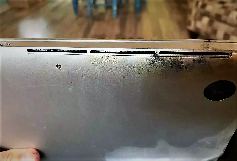 Affected Macbook Pro