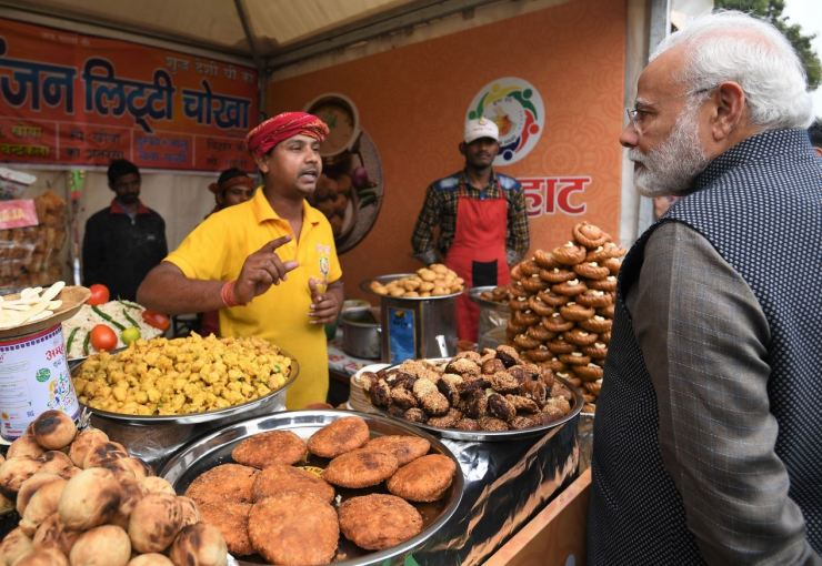 PM Modi at Hunar Haat