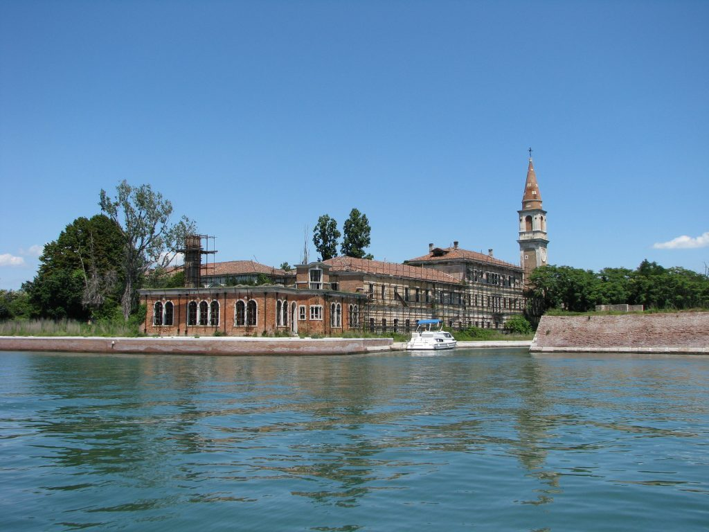 Mental Hospital at Poveglia Island