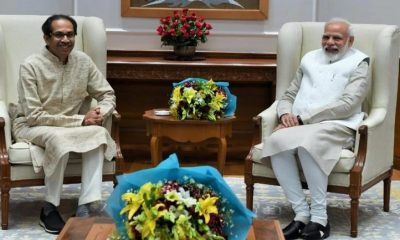 Uddhav Thackeray Meets Pm Modi in Delhi