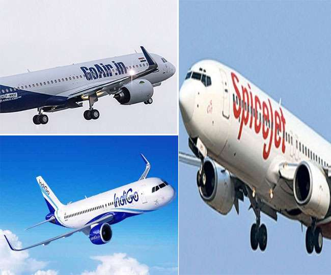 Indigo, GoAir and SpiceJet