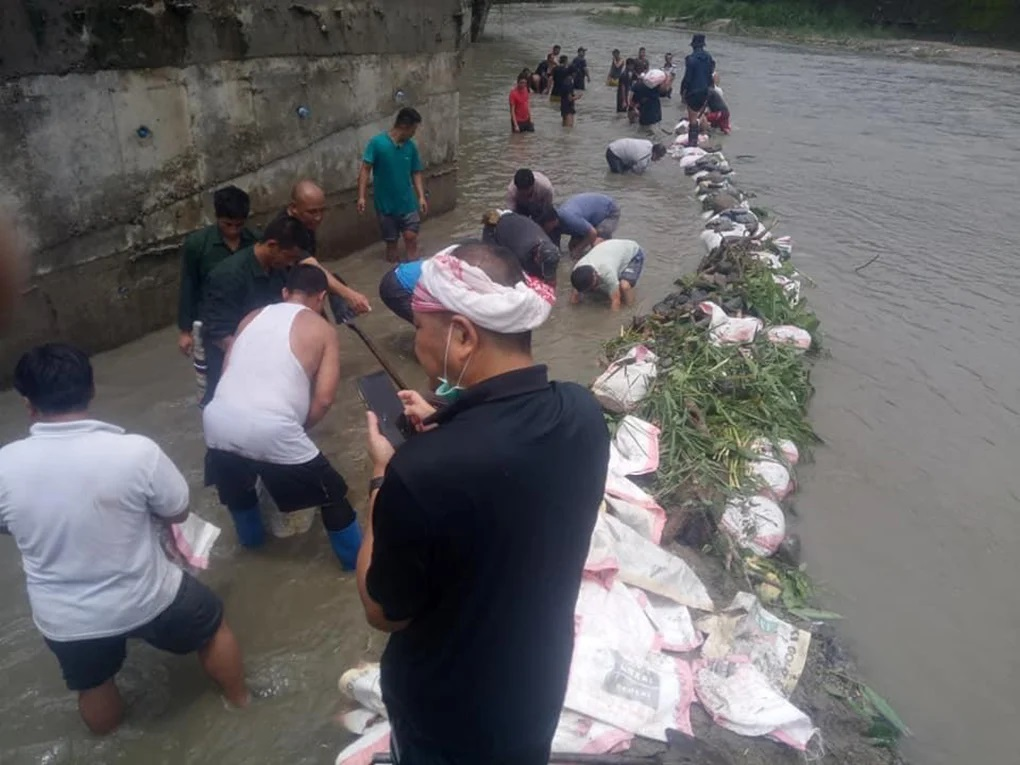 Bhutan has blocked water channels to India