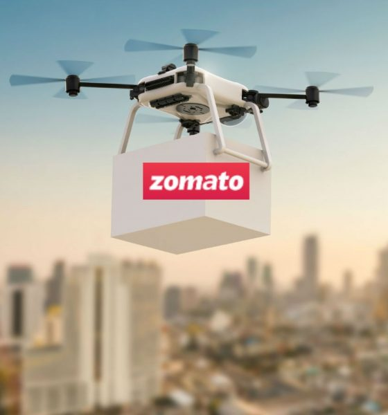 Zomato Partners with Vodafone Idea for Drone Delivery Ecosystem