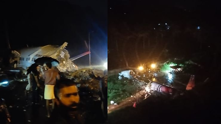 Air India Flight With 191 Passengers Crashed In Kozhikode