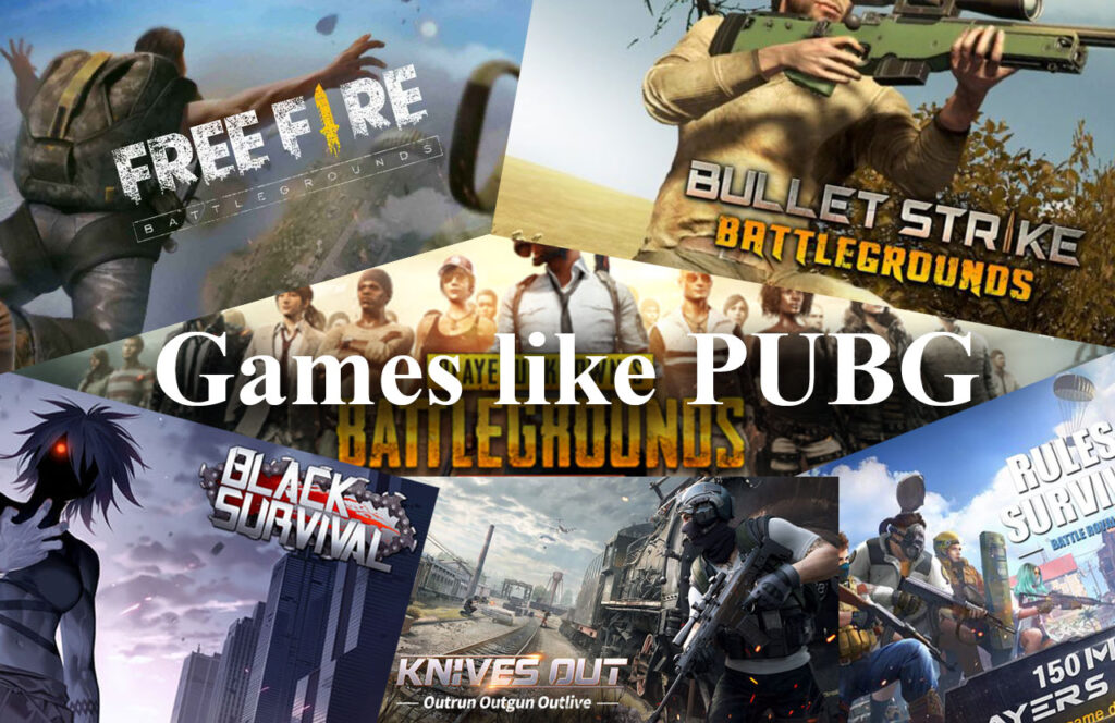 Best PUBG Mobile Altrenatives