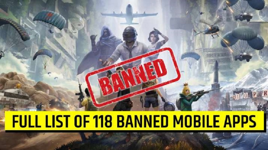 Pubg Mobile and 117 Other Chinese Banned in India