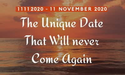 11112020 - The Unique Date That Will Never Come Again